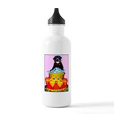 rottweiler birthday ca Water Bottle