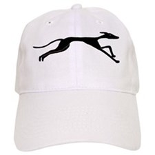 Sleek Greyhound Art Baseball Cap