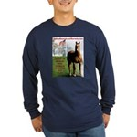 Save America's Horses- Long Sleeve Dark T-Shirt
