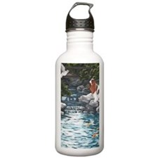 At the Koi Pond Water Bottle