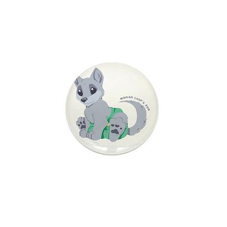 This cub wears cloth 1 (white) Mini Button