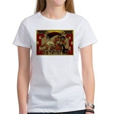 Mayan Embrace women's T-Shirt (white)