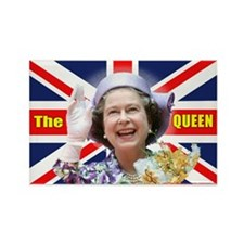 HM Queen Elizabeth II Rectangle Magnet