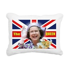 HM Queen Elizabeth II Rectangular Canvas Pillow