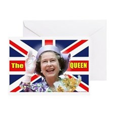HM Queen Elizabeth II Greeting Card