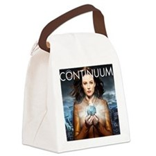 Rachel Continuum Poster Canvas Lunch Bag
