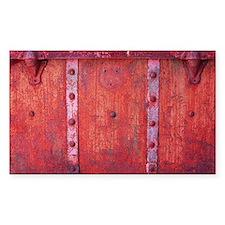 Steampunk Trunk Claret Shower  Decal