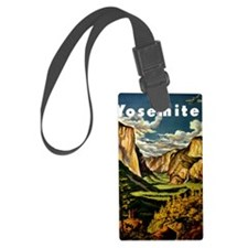Vintage Yosemite Travel Luggage Tag