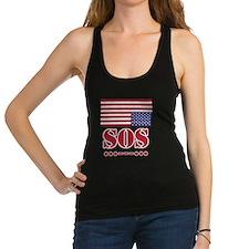America SOS Racerback Tank Top