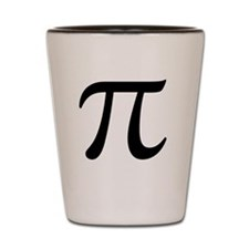 Pi Day Symbol Shot Glass
