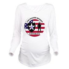 2nd Infantry Divisio Long Sleeve Maternity T-Shirt