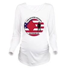5th Infantry Divisio Long Sleeve Maternity T-Shirt