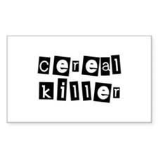 cErEal KillEr Rectangle Decal