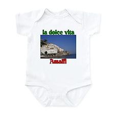 la dolce vita Amalfi Italy. Infant Bodysuit