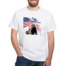 USA Patriotic ferret Shirt