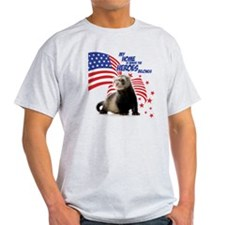 USA Patriotic ferret T-Shirt