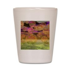 Peace in the Storm, Purple and Lime Shot Glass