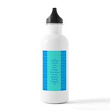 Faith Hope Charity Water Bottle