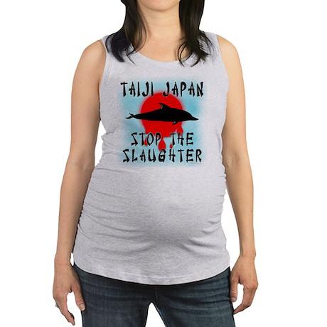 Taiji Slaughter Maternity Tank Top