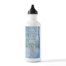 pet loss sympathy card Water Bottle