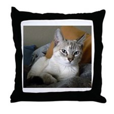 Funny And photography Throw Pillow