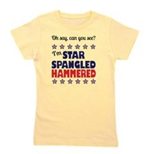 I'm Star Spangled Hammered Girl's Tee