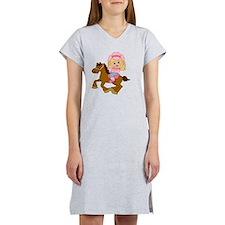 Little Cowgirl Women's Nightshirt