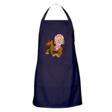 Little Cowgirl Apron (dark)