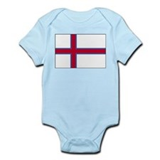 Faroe Islands Flag 4 Infant Bodysuit