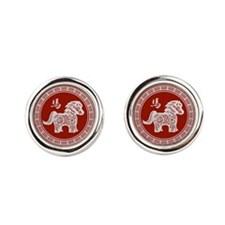 2014 Chinese Year of the Horse Cufflinks