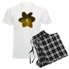 Urban Art Designer Flower Pajamas