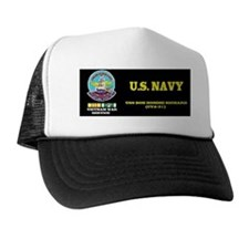 CVA31 USS BON HOMME RICHARD Trucker Hat