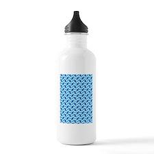 Bow Legged Woman Water Bottle