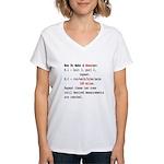 Runagogo Women's V-Neck T-Shirt
