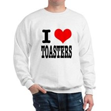 I Heart (Love) Toasters Sweatshirt