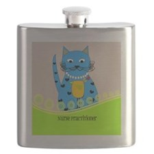 Nurse Practitioner cat Flask