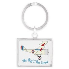 The Skys The Limit Landscape Keychain