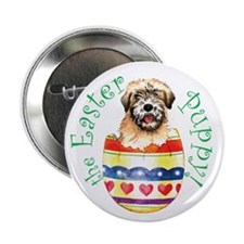 Easter Wheaten Button
