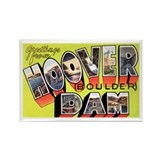 Hoover Boulder Dam Rectangle Magnet (10 pack)