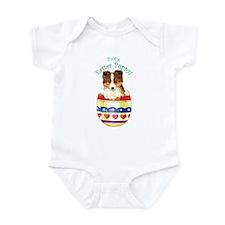 Easter Sheltie Infant Bodysuit