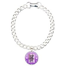 Cute pink love heart photo Bracelet