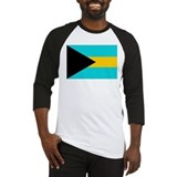 Cute Bahamas flag Baseball Jersey