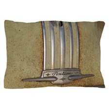Pontiac 53 chrome Pillow Case