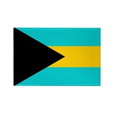 Cute Bahamas flag Rectangle Magnet