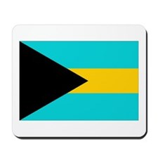 Cute Bahamas flag Mousepad