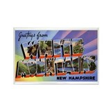 White Mountains New Hampshire Rectangle Magnet
