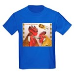 Sicilian Buttercup Chickens Kids Dark T-Shirt