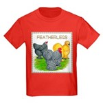 Feather-leg Trio Kids Dark T-Shirt