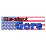 Re-elect Gore Bumper Sticker