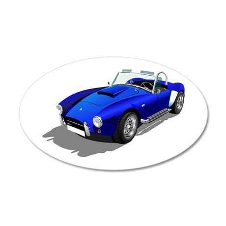 1965 Cobra 427 SC 20x12 Oval Wall Decal